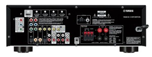 Yamaha RX-V375-R 5.1-Channel Factory 3D A-V Home Theater Receiver