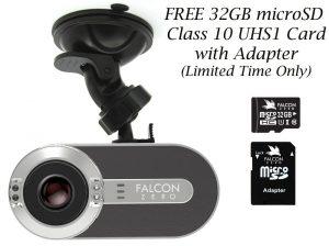Falcon Zero F170 Car DVR Dashcam with GPS
