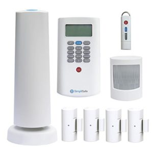 Simplisafe2 SSCS2 Wireless Home Security System 8-piece Plus Package