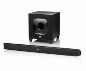 JBL CINEMA SB400 2.1CH Bluetooth Soundbar with Wireless Subwoofer