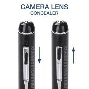 HD500 1080P Extreme Spy Pen Camera HD Video Recording Pen, 16GB